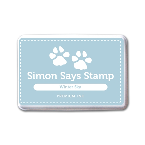 Simon Says Stamp Premium Ink Pad WINTER SKY INK082 New Beginnings Preview Image