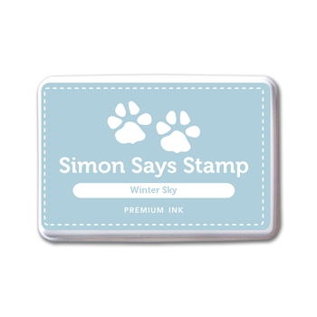 Simon Says Stamp Premium Ink Pad WINTER SKY INK082 New Beginnings