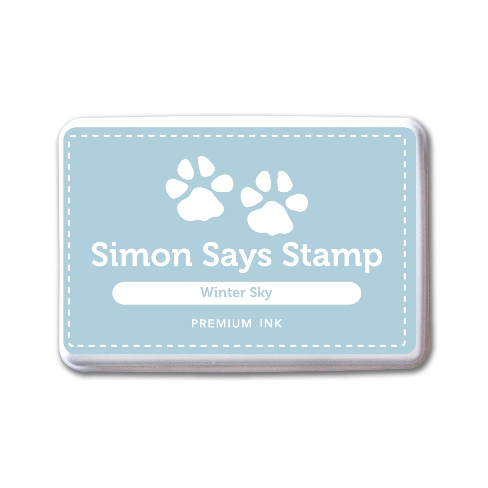 Simon Says Stamp Premium Ink Pad WINTER SKY INK082 New Beginnings zoom image
