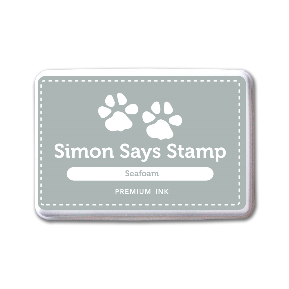 Simon Says Stamp Premium Dye Ink Pad SEAFOAM INK083 New Beginnings zoom image