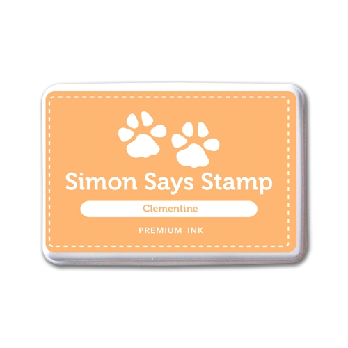 Simon Says Stamp Premium Dye Ink Pad CLEMENTINE INK084 New Beginnings Preview Image