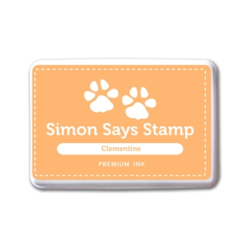 Simon Says Stamp Premium Dye Ink Pad CLEMENTINE INK084 New Beginnings