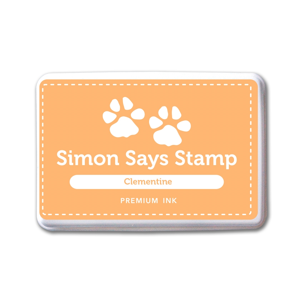 Simon Says Stamp Premium Dye Ink Pad CLEMENTINE INK084 New Beginnings zoom image