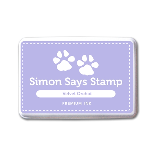 Simon Says Stamp Premium Dye Ink Pad VELVET ORCHID INK087 New Beginnings Preview Image