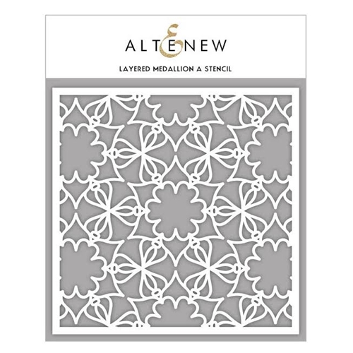 Altenew LAYERED MEDALLION A Stencil ALT1628 Preview Image