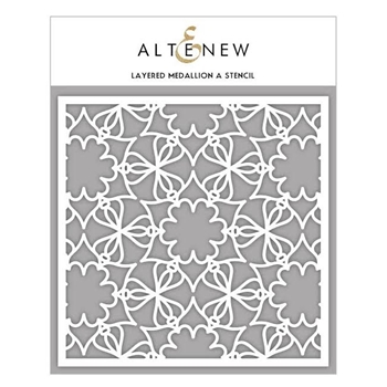 Altenew LAYERED MEDALLION A Stencil ALT1628