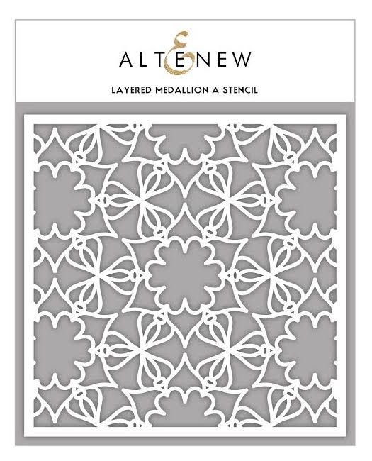 Altenew LAYERED MEDALLION A Stencil ALT1628 zoom image