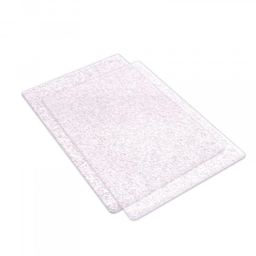Sizzix SILVER GLITTER Standard Cutting Pads Pair 662141 zoom image