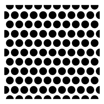 ScrapBerry's DOTTED PATTERN Stencil SCB53100018