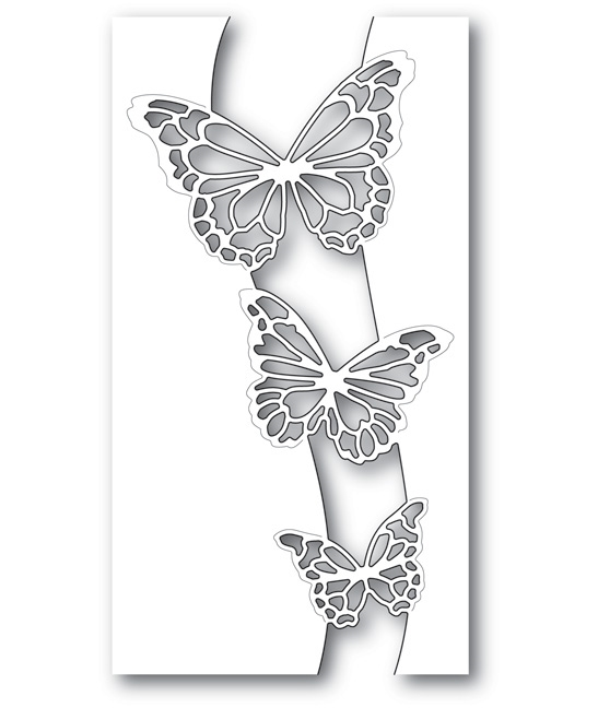 Memory Box BUTTERFLY SWELL Craft Die 99718 zoom image