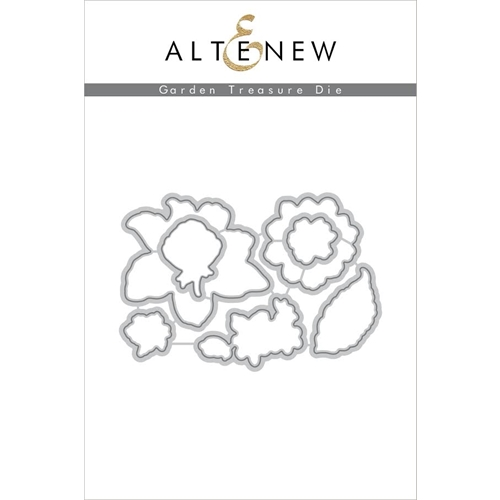 Altenew GARDEN TREASURE DIE Set ALT1615 Preview Image