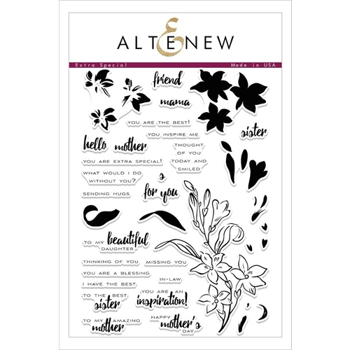 Altenew EXTRA SPECIAL Clear Stamp Set ALT1599* Preview Image