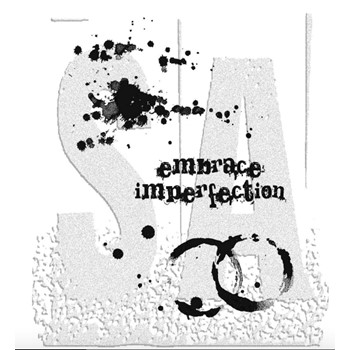 Tim Holtz Cling Rubber Stamps SPILLS and SPLATTERS CMS028