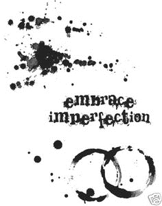 Tim Holtz Cling Rubber Stamps SPILLS and SPLATTERS CMS028 zoom image