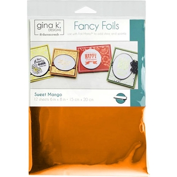 Therm O Web Gina K Designs SWEET MANGO Fancy Foils Deco Foil 18029