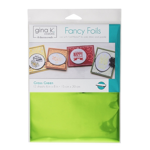 Therm O Web Gina K Designs GRASS GREEN Fancy Foils Deco Foil 18032 Preview Image