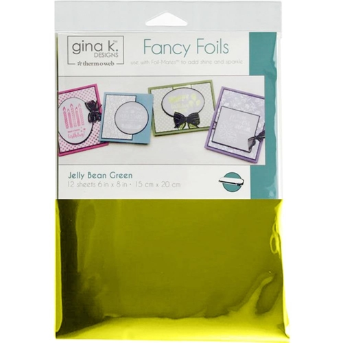 Therm O Web Gina K Designs JELLY BEAN GREEN Fancy Foils Deco Foil 18036 Preview Image