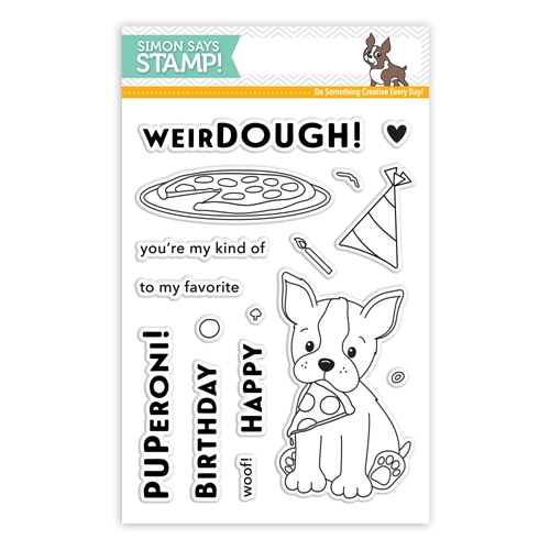 Simon Says Clear Stamps FAVORITE PUPPERONI SSS101737 * Preview Image