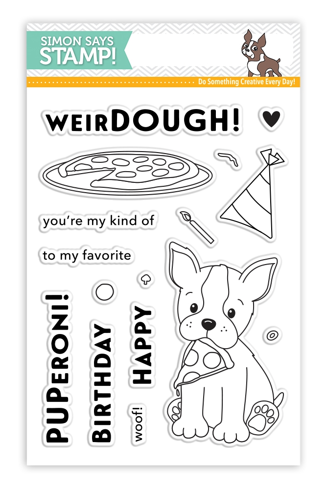 Simon Says Clear Stamps FAVORITE PUPPERONI SSS101737 * zoom image