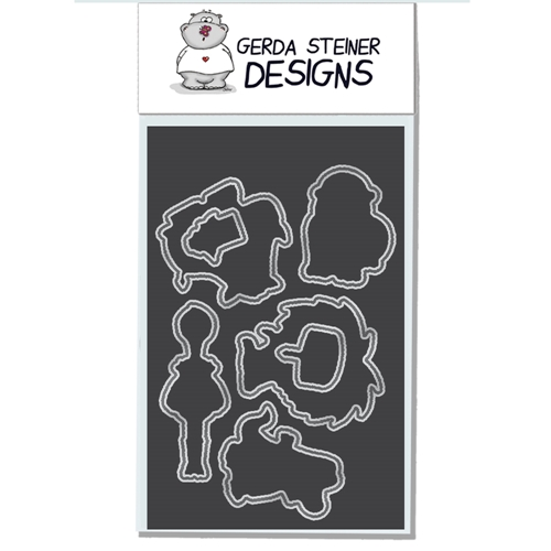Gerda Steiner Designs PARTY ANIMALS Die Set GSD582DIE* Preview Image