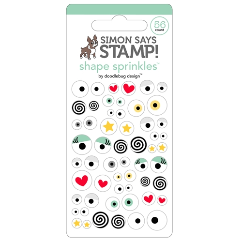 Simon Says Stamp ALL EYES ON YOU Shape Sprinkles 5655 Preview Image