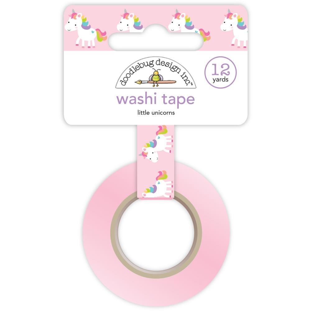 Doodlebug LITTLE UNICORNS Fairy Tales Washi Tape 5562 zoom image