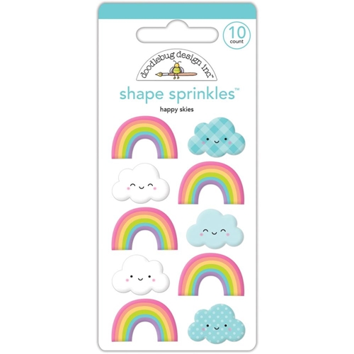 Doodlebug HAPPY SKIES Sprinkles Shapes Assortment Fairy Tales 5549* Preview Image