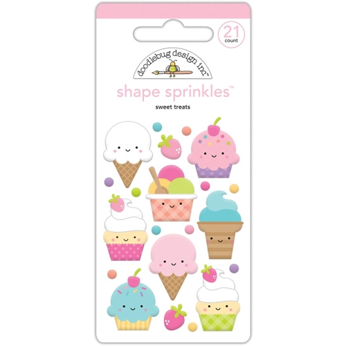 Doodlebug SWEET TREATS Sprinkles Shapes Assortment Fairy Tales 5551 Preview Image