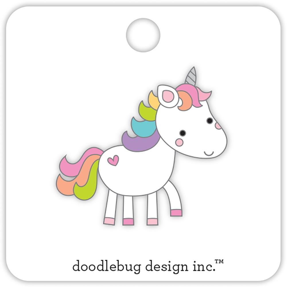 Doodlebug UNICORN Collectible  Pin Fairy Tales 5696 zoom image