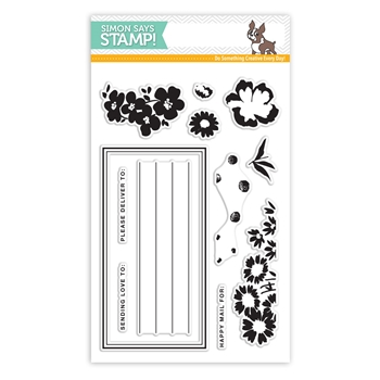 Simon Says Clear Stamps SENDING FLOWERS SSS101734 Mothers Fathers Florals *