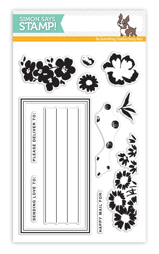 Simon Says Clear Stamps SENDING FLOWERS SSS101734 Mothers Fathers Florals * zoom image