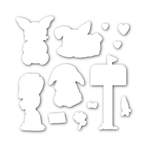 Simon Says Stamp SOME BUNNY SPECIAL Wafer Dies SSSD111712 Mothers Fathers Florals * Preview Image