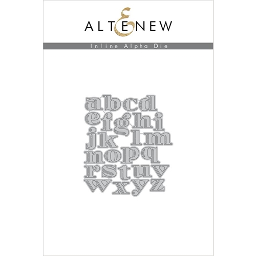 Altenew INLINE ALPHA Die Set ALT1597 Preview Image