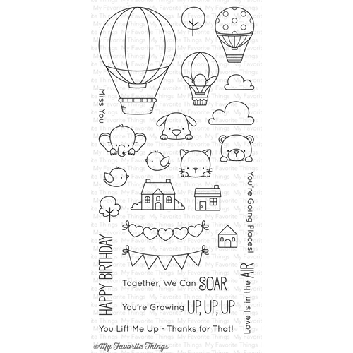 My Favorite Things UP IN THE AIR Clear Stamps BB44 Preview Image