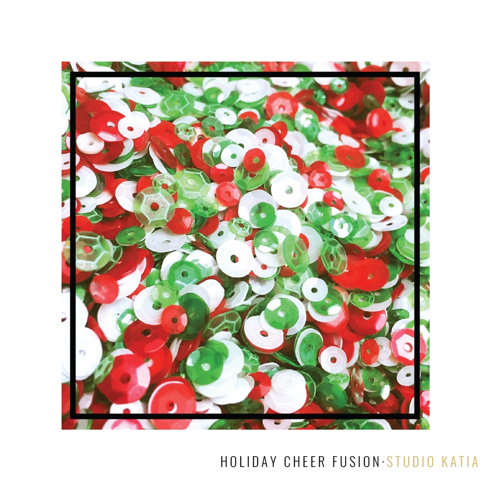 Studio Katia HOLIDAY CHEER Fusion Sequins SK2824 zoom image