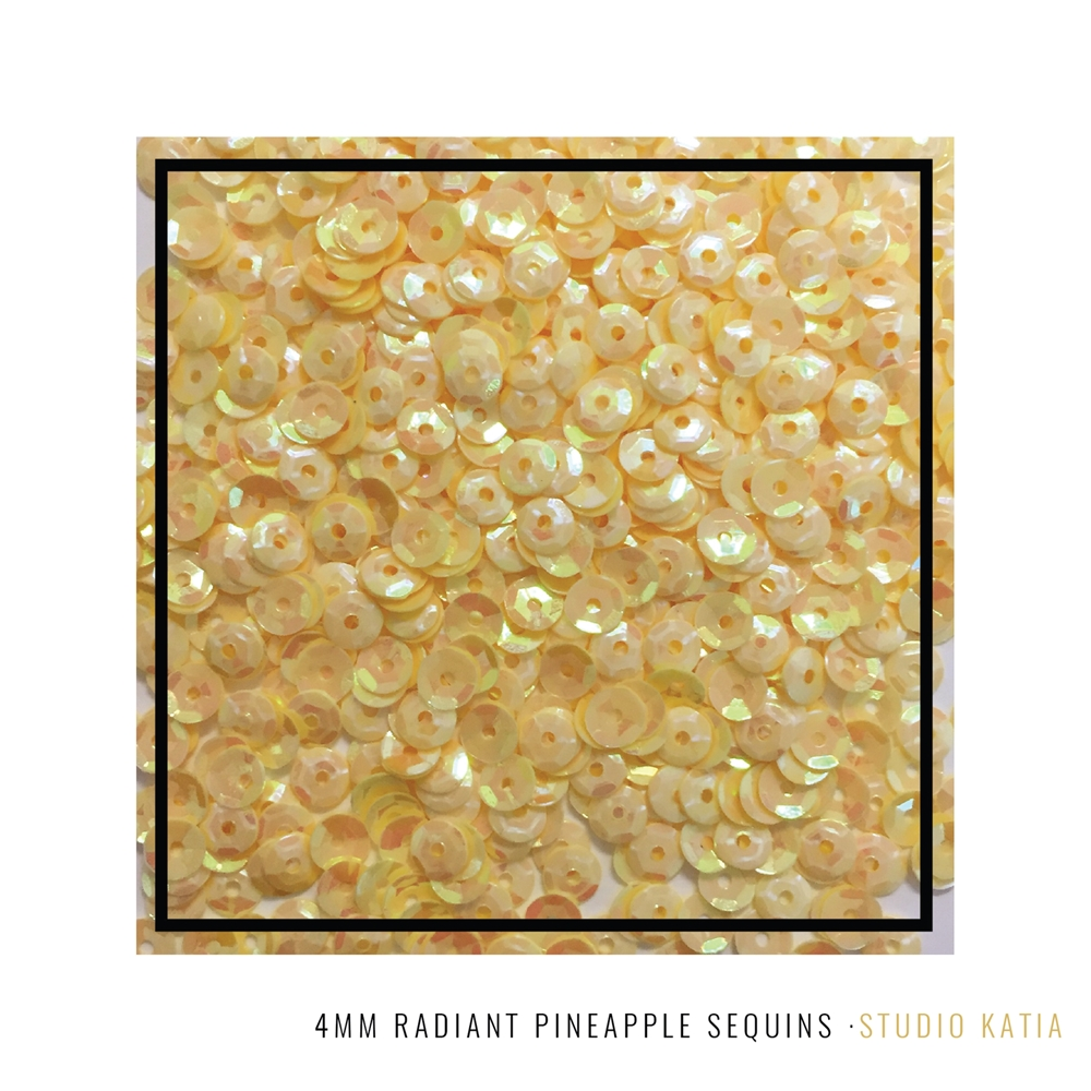 Studio Katia RADIANT PINEAPPLE 4mm Sequins SK2842* zoom image