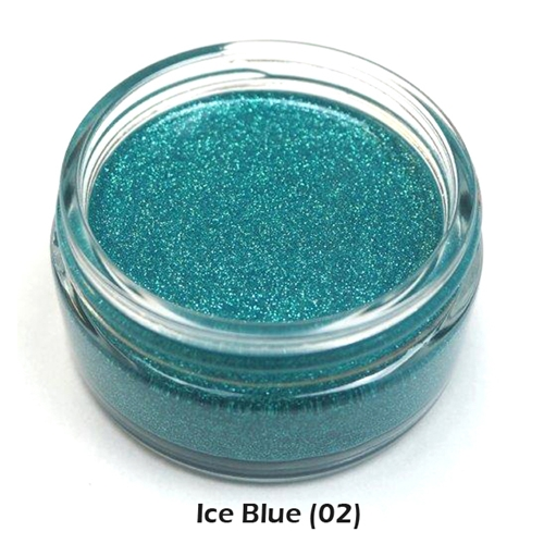 Cosmic Shimmer ICE BLUE Glitter Kiss Polish 913343 Preview Image
