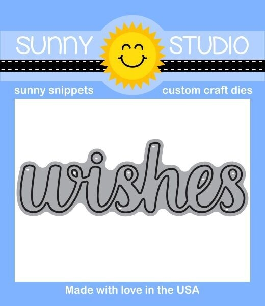 Sunny Studio WISHES WORD Snippets Die SunnySS-805 zoom image