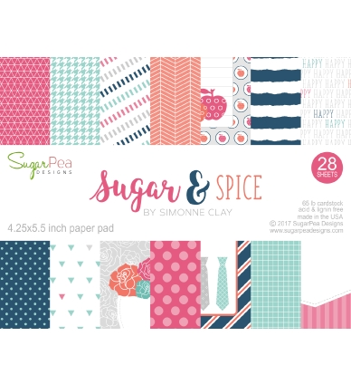 SugarPea Designs SUGAR & SPICE Paper Pad Collection SPD00191* Preview Image