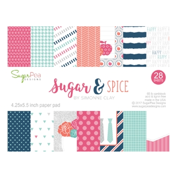 SugarPea Designs SUGAR & SPICE Paper Pad Collection SPD00191*