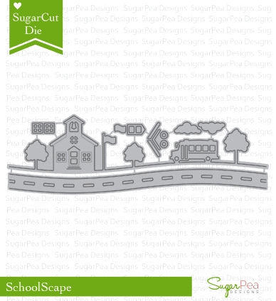 SugarPea Designs SCHOOLSCAPE SugarCuts Dies SPD00200 Preview Image