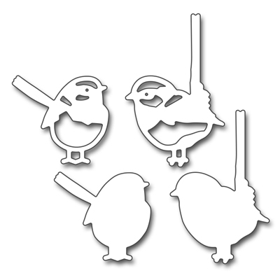 Penny Black FINCHES Thin Metal Creative Dies 51 345 zoom image