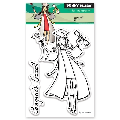 Penny Black GRAD Clear Stamp Set 30-428 Preview Image