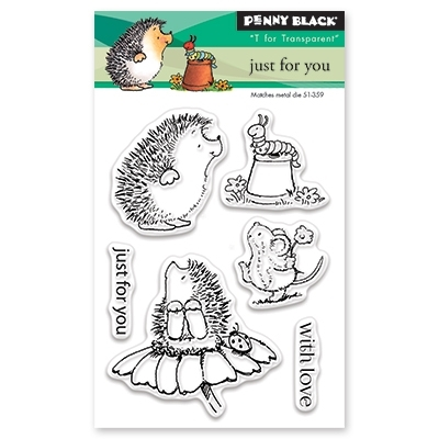 Penny Black JUST FOR YOU Clear Stamp Set 30-424 Preview Image
