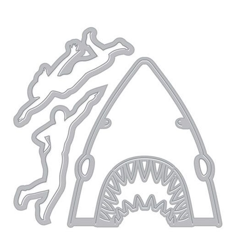 Hero Arts Paper Layering SHARK Die Set DI380 Preview Image