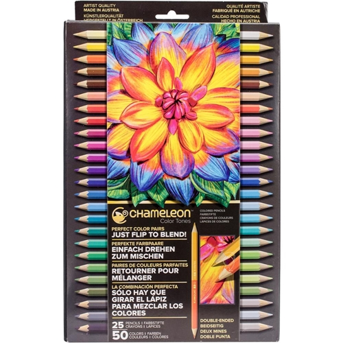 Chameleon SET OF 25 Color Tones Double-Ended Colored Pencils pe2501 Preview Image