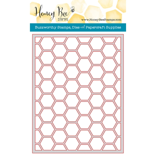 Honey Bee HEXAGON COVER PLATE TOP Die HBDS-HXPLT3 Preview Image