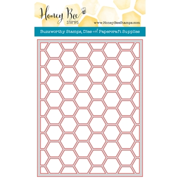 Honey Bee HEXAGON COVER PLATE TOP Die HBDS-HXPLT3