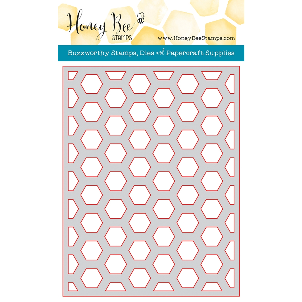 Honey Bee HEXAGON COVER PLATE MIDDLE Die HBDS-HXPLT2 zoom image