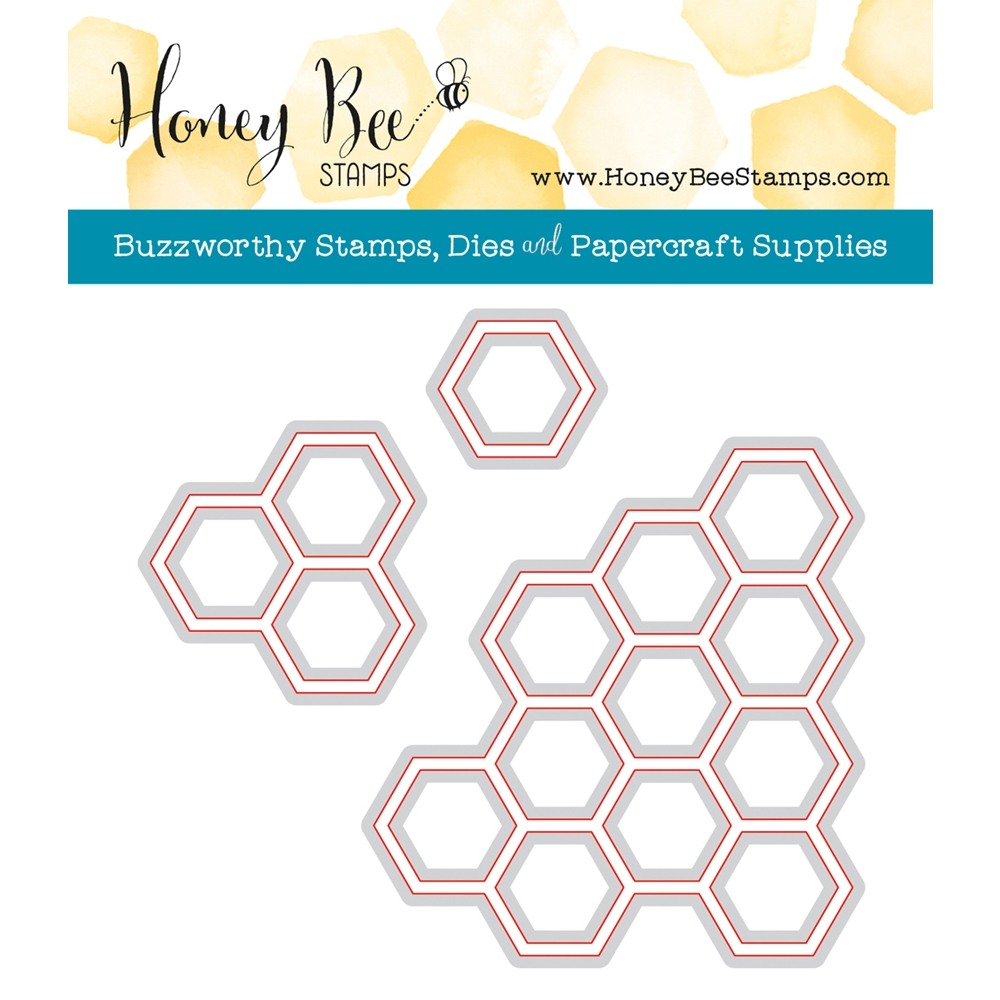 Honey Bee HEXAGON BUNCHES Dies HBDS-HXBNCH zoom image